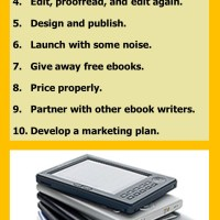 10 Tips to Write and Self-Publish Your First Ebook