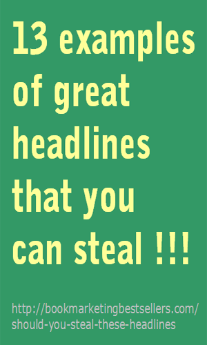 Great headlines examples