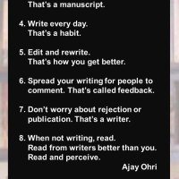 Ajay Ohri: The 8 Rules of Writing