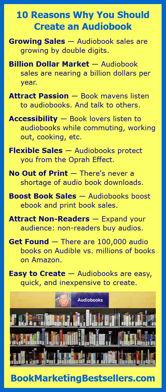 Why You Should Publish Audiobooks