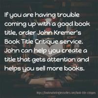 Book Title Critiques