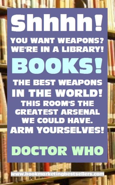 Doctor Who on the Power of Books
