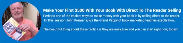 John Kremer on Your First 500 Book Sales