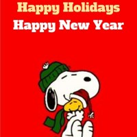 Happy Holidays from John Kremer and Snoopy and Woodstock!