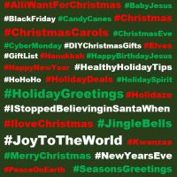 365 Holiday Hashtags: The Best Hashtags for the Holiday Season