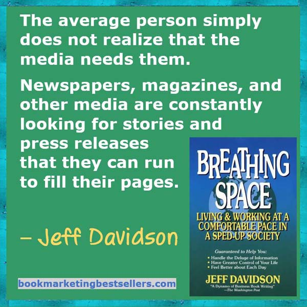 Jeff Davidson on Getting Publicity