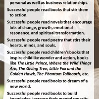 Successful People Read Books!