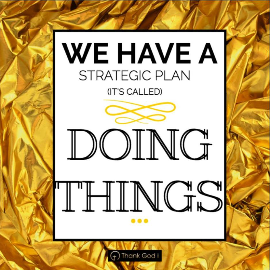 Book Marketing Tip: Have a strategic plan. It's called doing things.