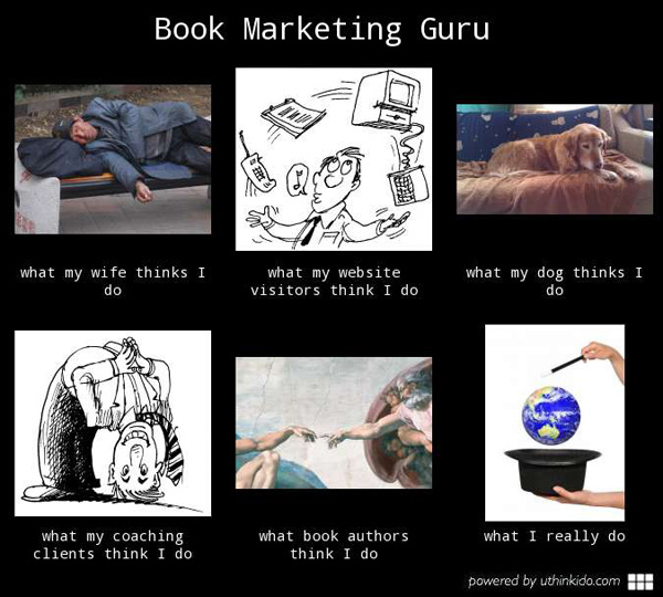 What a book marketing guru really does