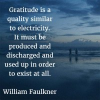 The Month of Thanksgiving: William Faulkner on Gratitude