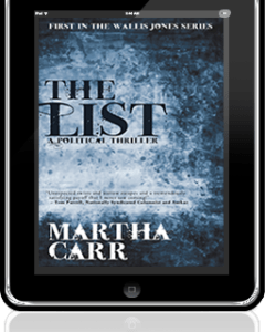 The List, a thriller by Martha Carr