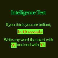 False Intelligence Tests as Memes