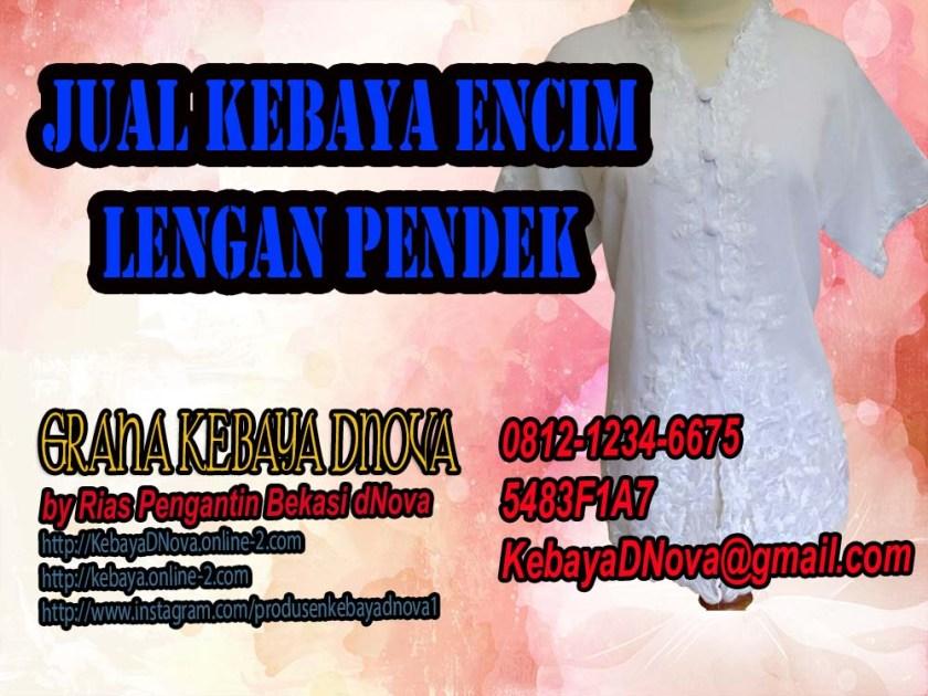 MODEL KEBAYA ENCIM LENGAN PENDEK - 081212346675 - KEBAYA DNOVA (1)