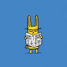 dwiseman_newspaperbunny