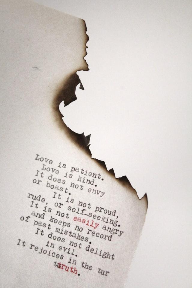 أوصاف المحبة من كتاب النبي لجبران خليل جبران