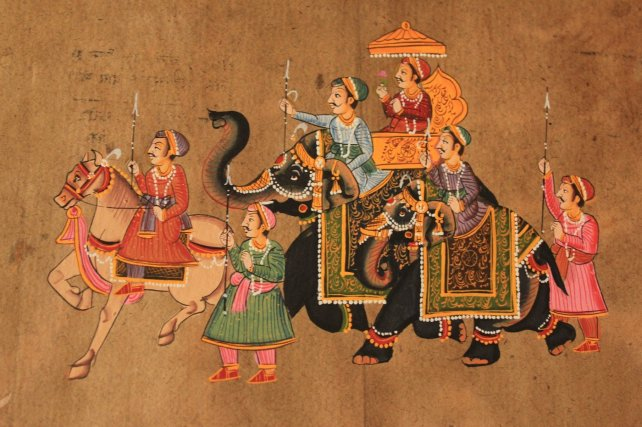 Rajput Painting (types of paintings)