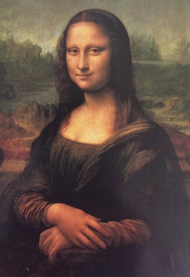 Monalisa by Leonardo Da Vinci (Famous Oil Paintings)