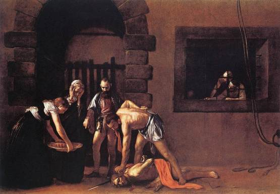 Beheading of Saint John the Baptist The famous painting