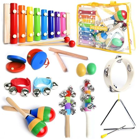 Kids musical Instrument set as baby's first birthday gift