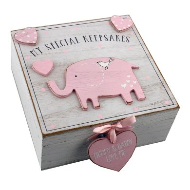 Memory box as baby's first birthday gift ideas