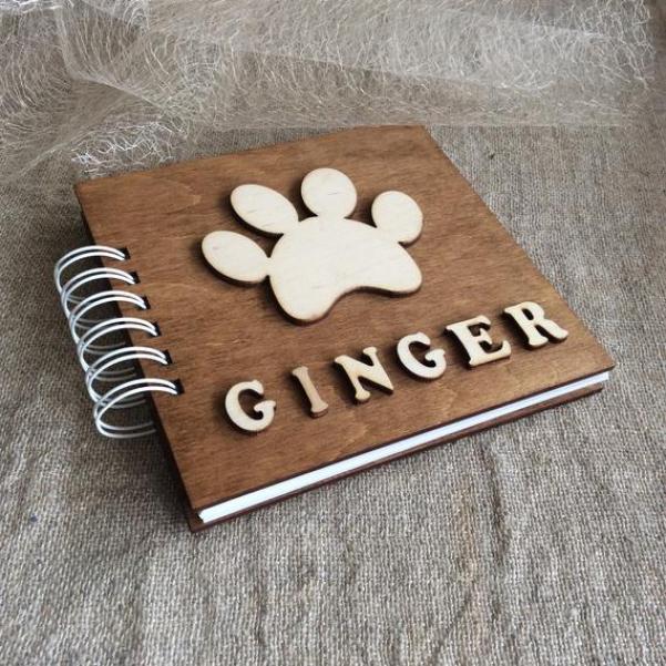 Pet Personalized Scrapbook