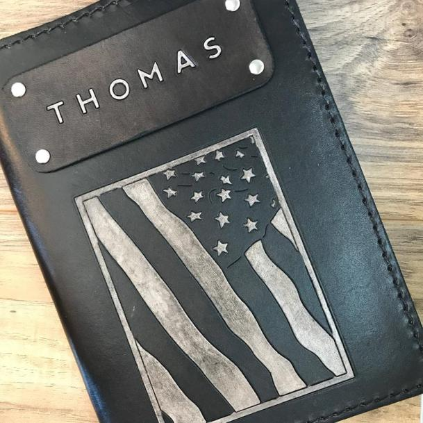 Personalized Diary as military retirement gift