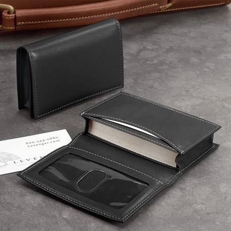 Leather Card Case or Wallet (Gift for Boyfriend)