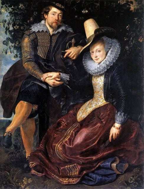 The Honeysuckle Bower by Peter Paul Rubens (Romantic Paintings)
