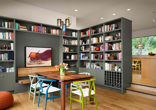 The Bookworm Theme (Dining Room Decoration)
