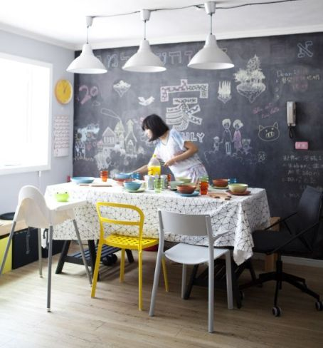 Doodling (Dining Room Decoration)