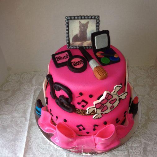 The teen girl cake