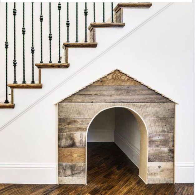 Under-the-Stairs Dog House