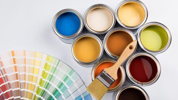 Decide on the paints