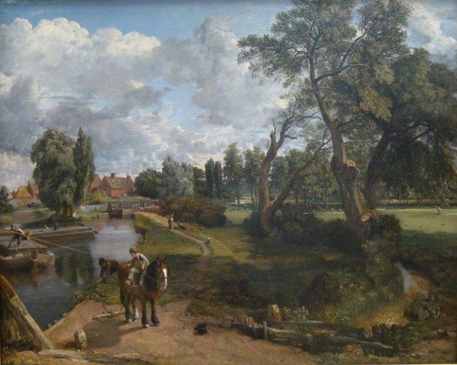 Flatford Mill- John Constable