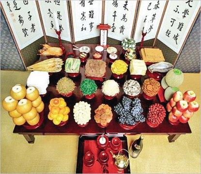 Chuseok Harvest pageant – Korea