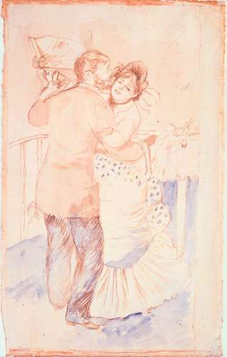 Dance in the Country : History of Pencil Sketches