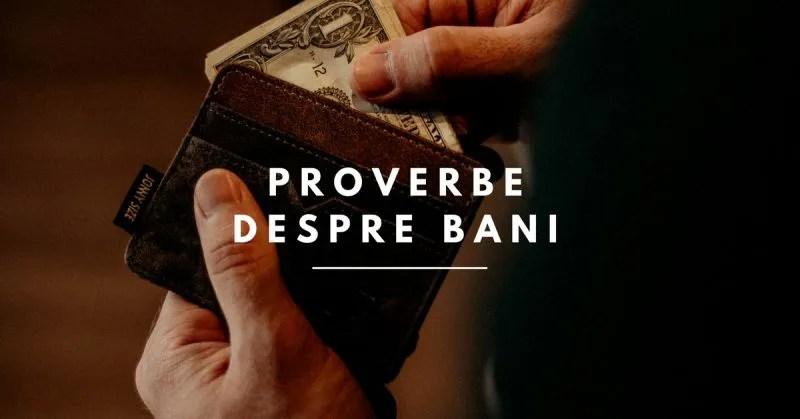 Proverbe despre Bani și Avere