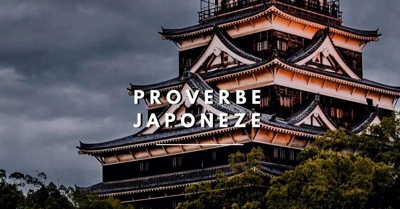 proverbe japoneze