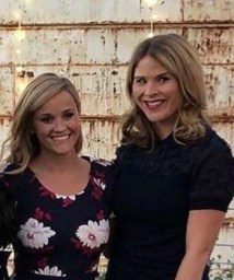 Reese Witherspoon and Jenna Bush Hager