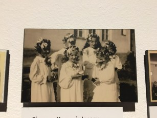 girls at convent school in Poland
