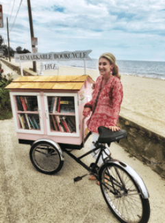 Jane Green Remarkable Book Bike Compo Beach Westport CT