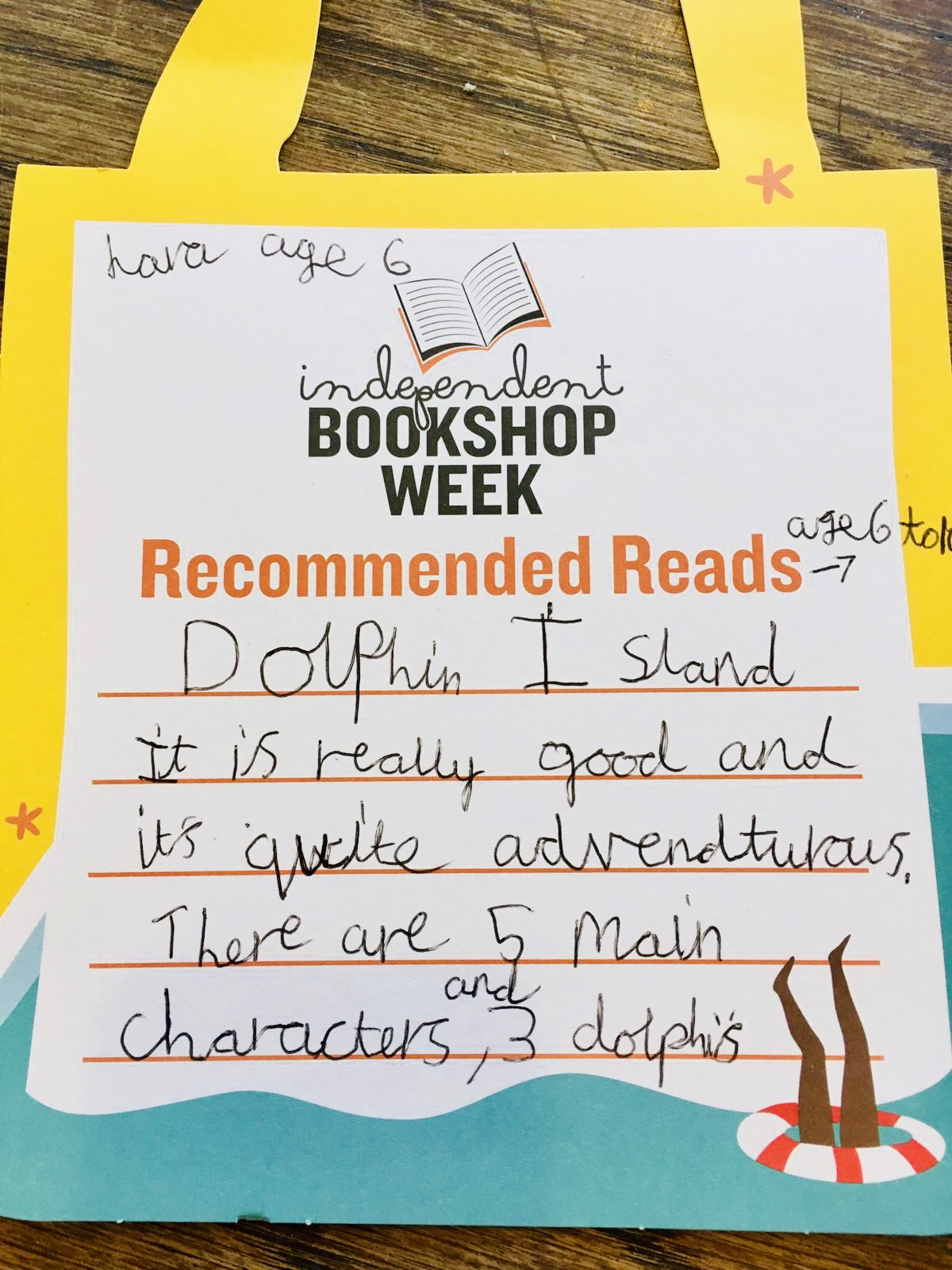 Book Recommendation: Dolphin Island
