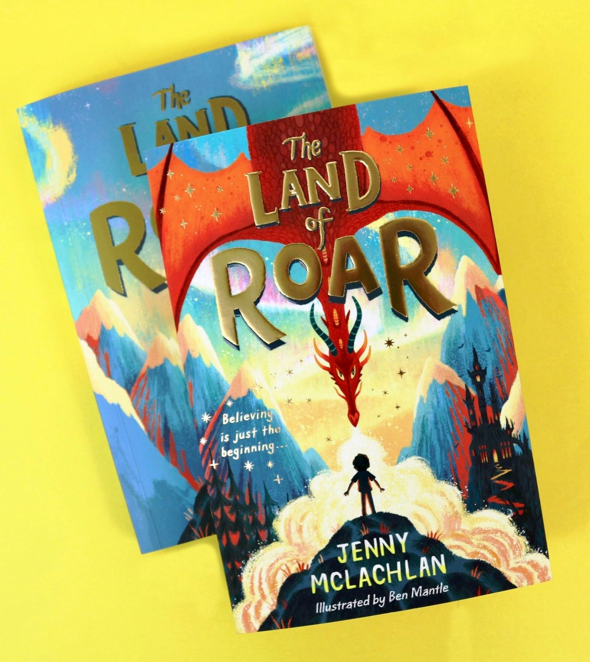 The Land of Roar by Jenny McLachlan and Ben Mantle