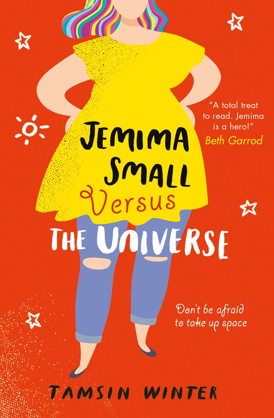 Tamsin Winter Guest Post – Jemima Small Versus the Universe