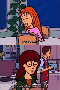 Daria | Top 10 Literary Bookworms