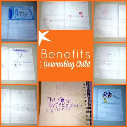 Benefits of a Journaling Child