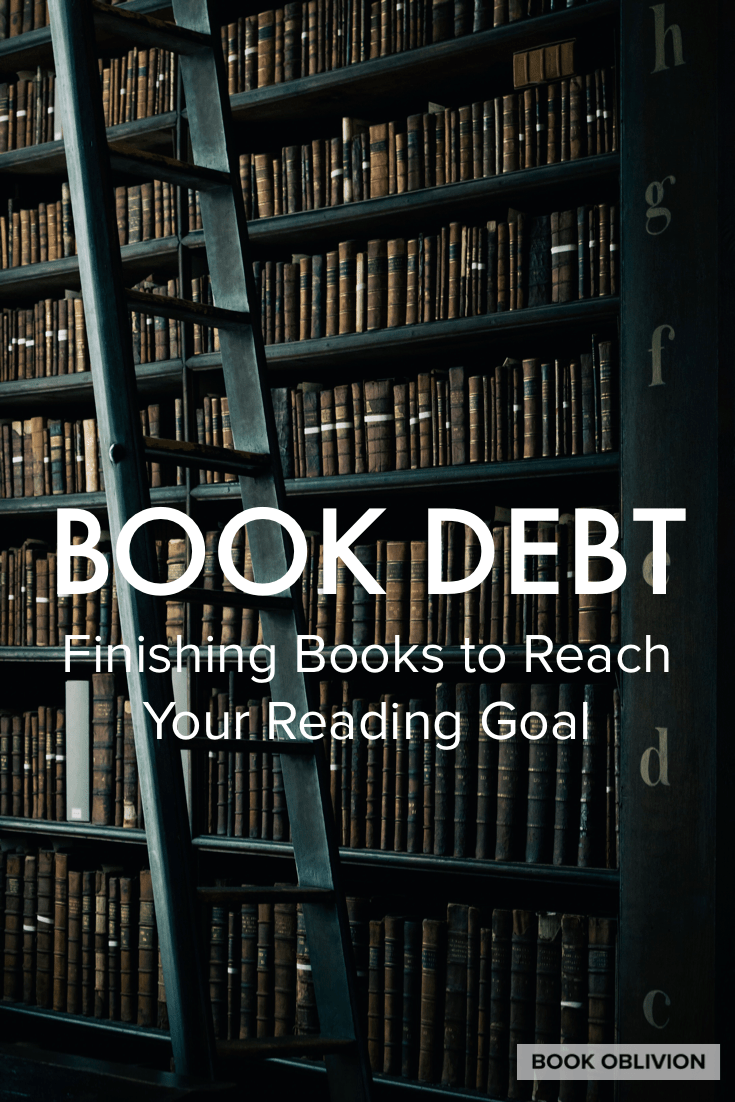Finishing books is possible with a little strategic planning. Here is how I slay my book debt at the end of the year to reach my reading goals.