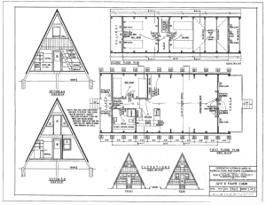 A Frame Cabin Floor Plans | Free E Book Guaranteed Building Plans 200 House Plans 2 Free