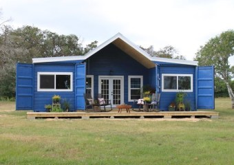 Container homes by Houston, Texas based Backcountry Containers