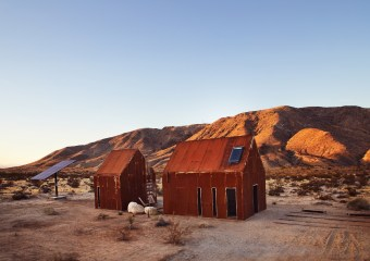 Folly Cabins, Joshua Tree, California by Cohesion Studio